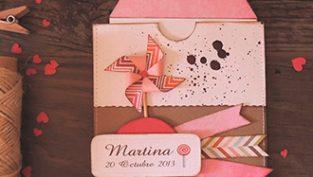 Recordatorio Bautizo Handmade