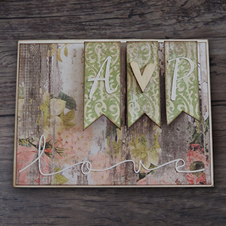 Tarjeta Regalo Boda Handmade