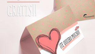 Tarjeta San Valentin Gratis